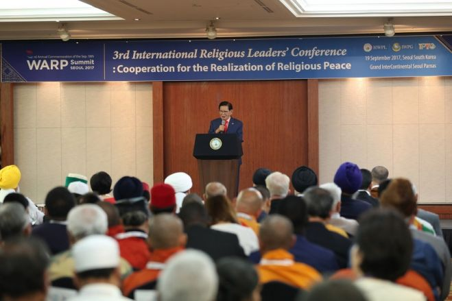 Through Communication Rather Than Force - World Religious Leaders Are Gathering to Realize True Peace in the Globe