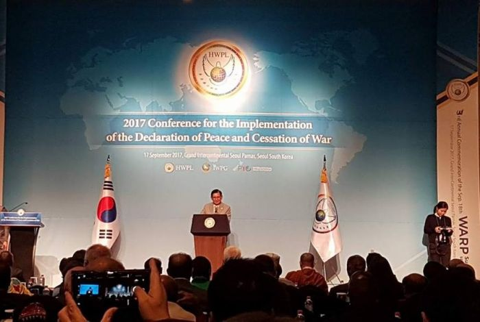 Press Conference for the 3rd Annual Commemoration of the September 18th WARP Summit Seoul 2017