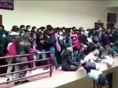 VIDEO. Cinci studenți au murit după ce s-au prăbușit în gol