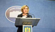 Ministrul Carmen Dan, prima reacţie la scandalul plăcuţelor anti-PSD