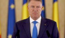 Preşedintele Klaus Iohannis susţine o conferinţă de presă la ora 18,00