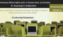 Solutii pentru reducerea birocratiei in administratia publica  prin e-guvernare si inovare
