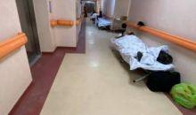 Imagini cutremurătoare la Institutul Matei Balș: Bolnavi tratați pe holuri VIDEO